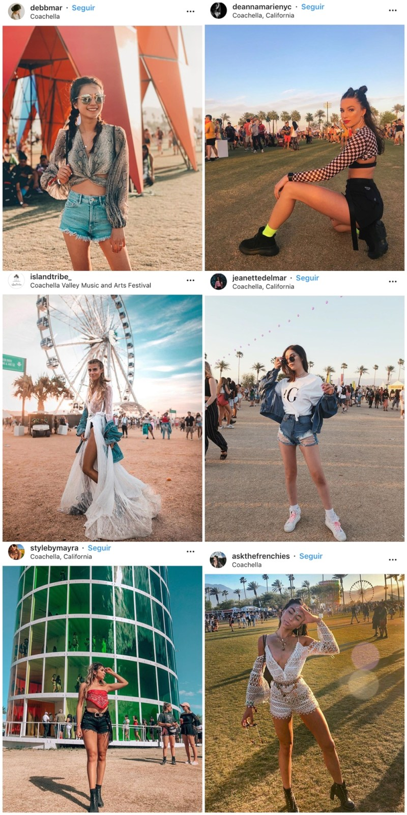COACHELLA 02 - Os 16 Looks + Incríveis do Coachella 2019