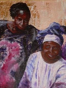 Kiné et Marie Tati