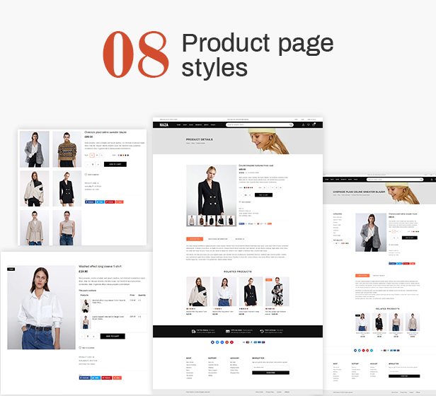 Haza | Multipurpose Fashion Prestashop Theme