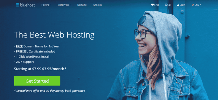 Bluehost Free Blog Set up