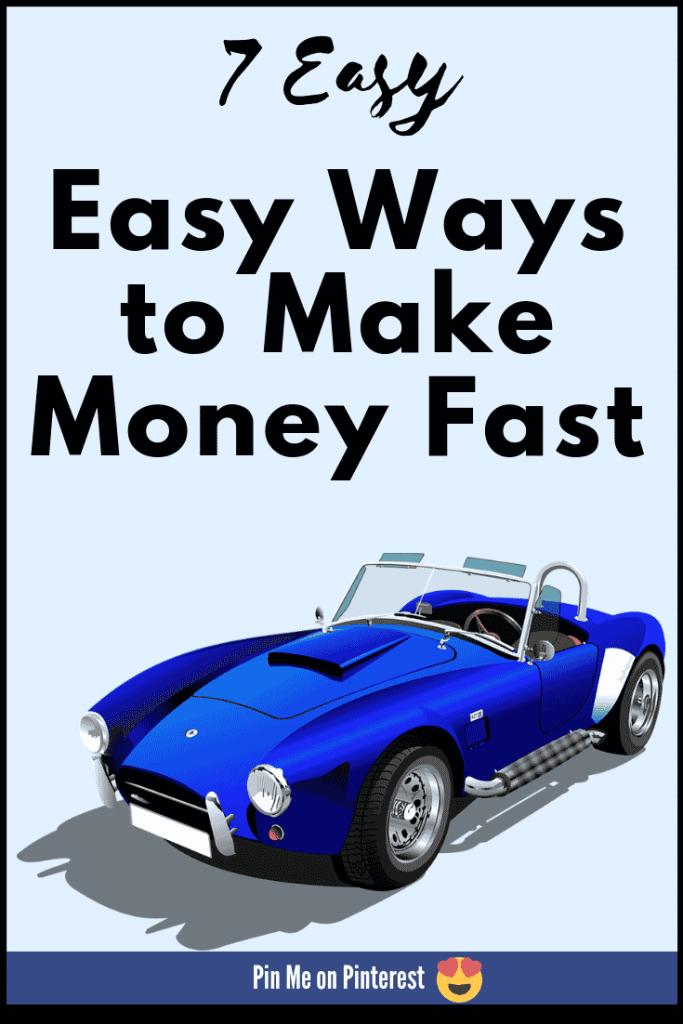 7 Easy ways to make money online