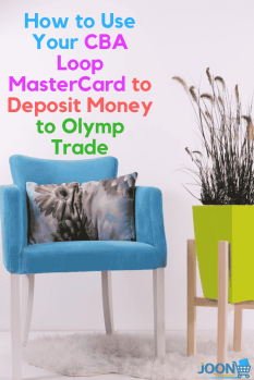 How to deposit money to Olymp Trade with the CBA loop Mastercard