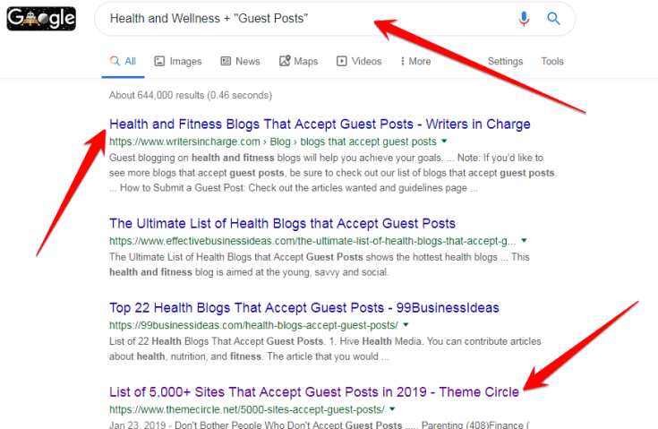 Submit Guest Post Health