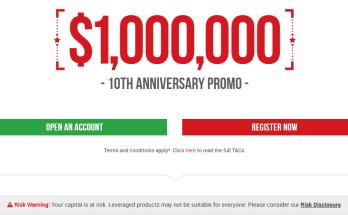 XM Forex $10,000,000 Promo