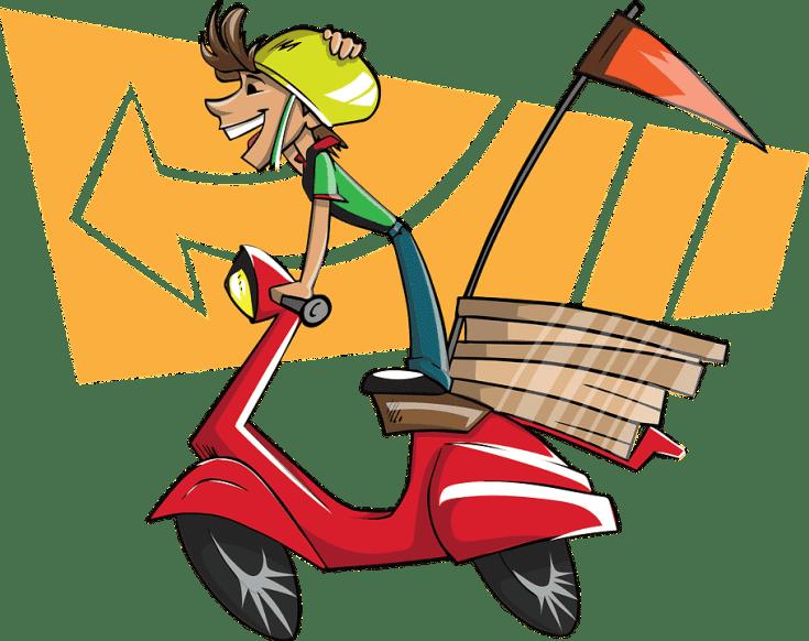 Deliver goods online