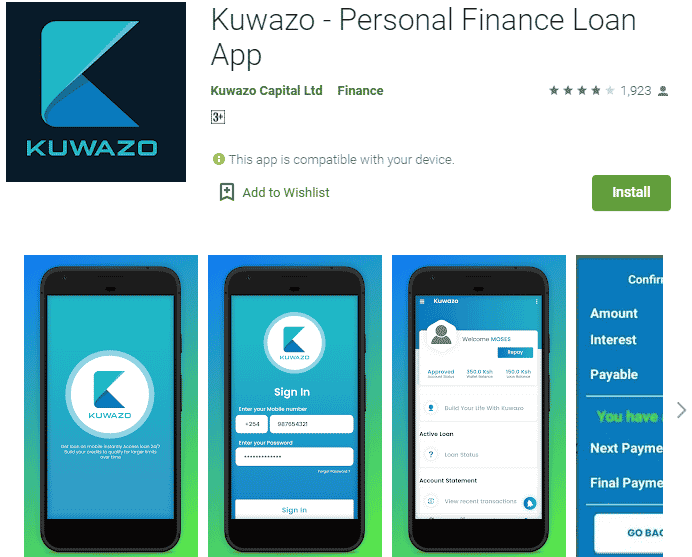 Kuwazo loan