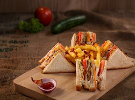 Less repetitive tasks with our sandwich order form