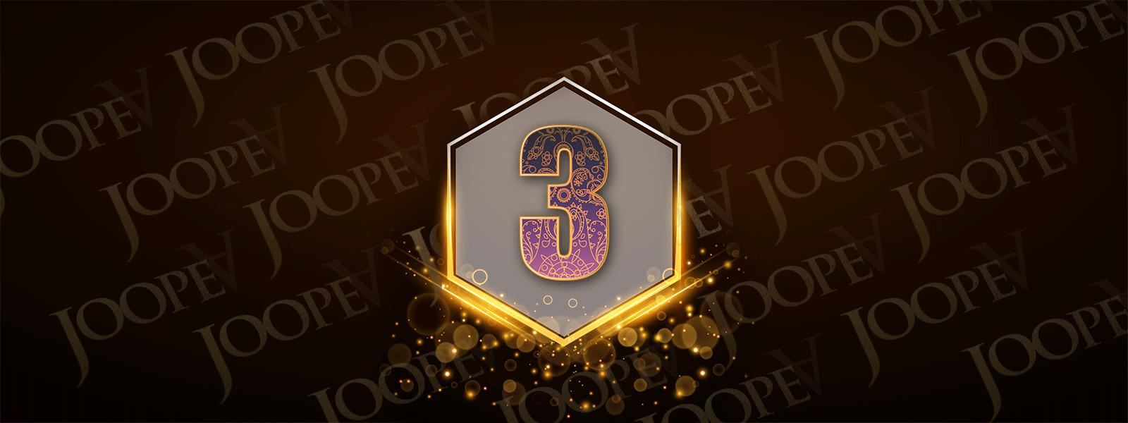 JoopeA's 3rd Anniversary