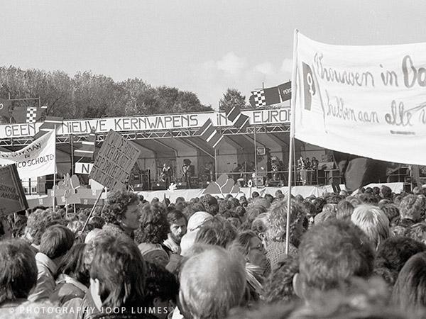 vredesdemonstratie den haag 1983