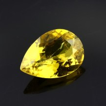 Yellow Tourmaline Pear, 1.39 carats, 9.7x6.8x3.8mm, $105