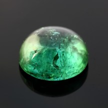 Joopy Gems blue-green tourmaline cabochon, 15.1mm, 14.070 carats