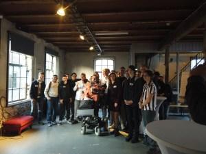 groepsfoto met MBO Rijnland