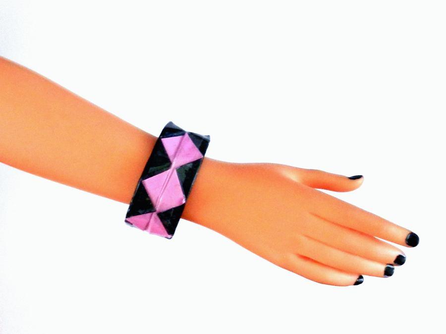 diagram origami bracelet 700r4 automatic transmission joost langeveld page circle skirt woven newspaper bag bangle