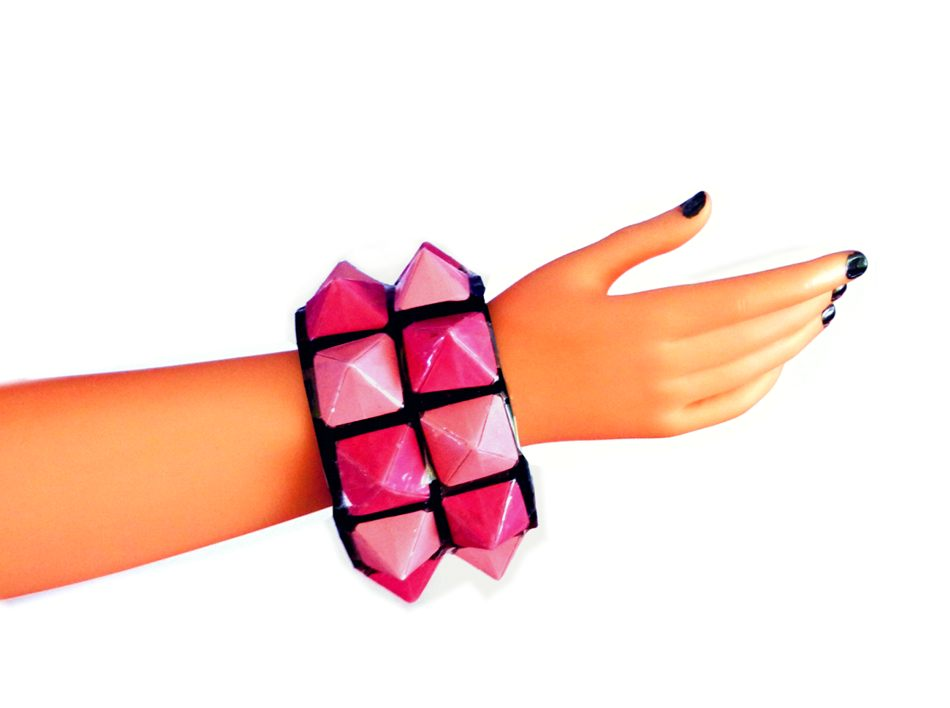diagram origami bracelet yamaha g1 gas golf cart wiring joost langeveld page fabric purse wedding dress studded bangle