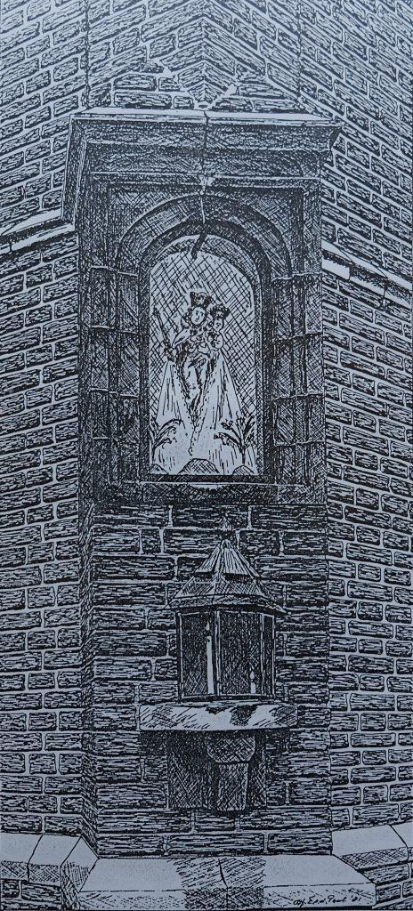 Jacobskapel venlo madonna beeld