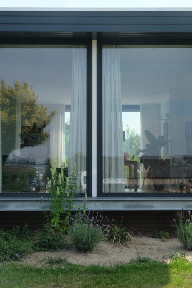 Detail nieuwe toestand voorgevel - foto Joost Reijnen architect