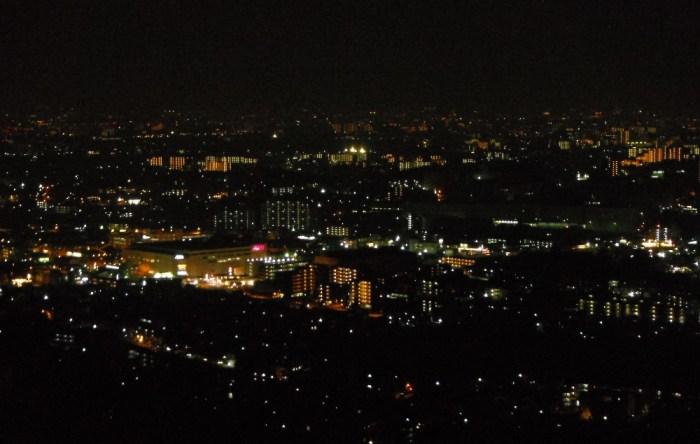 箕面の夜景はついうっかり足を止めたくなる絶景スポット