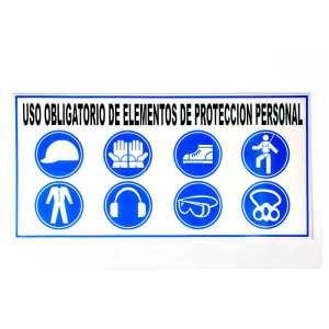Comprar señal uso obligatorio de elementos de proteccion personal