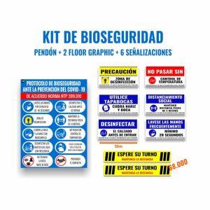 Kit Completo de bioseguridad