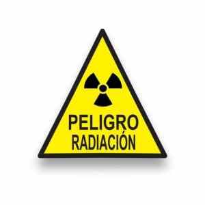 Señalización Peligro radiación