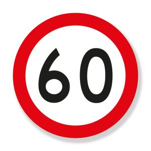 Velocidad Máxima Permitida (SR-30) Señalización Vial