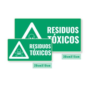 Señalización Residuos Tóxicos
