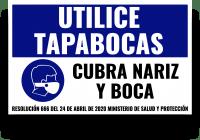 Utilice tapabocas