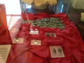 Plethora of coins at the museum