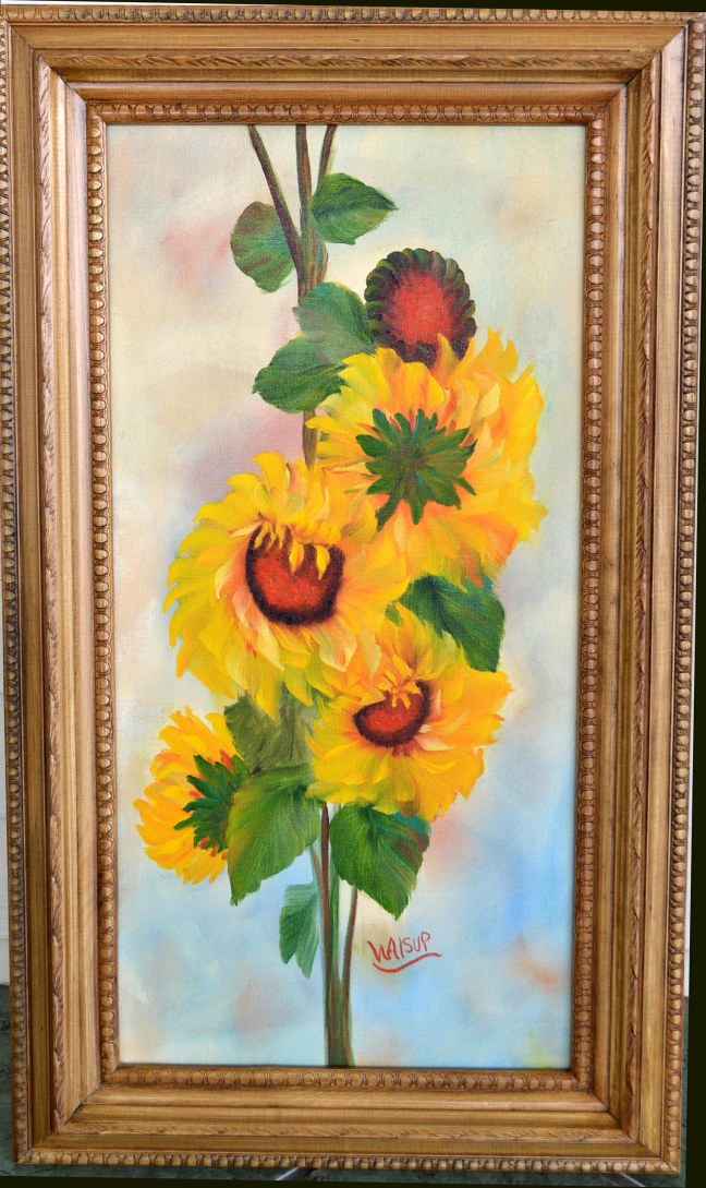 Sunflower on 12x24