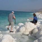 Salt In Dead Sea