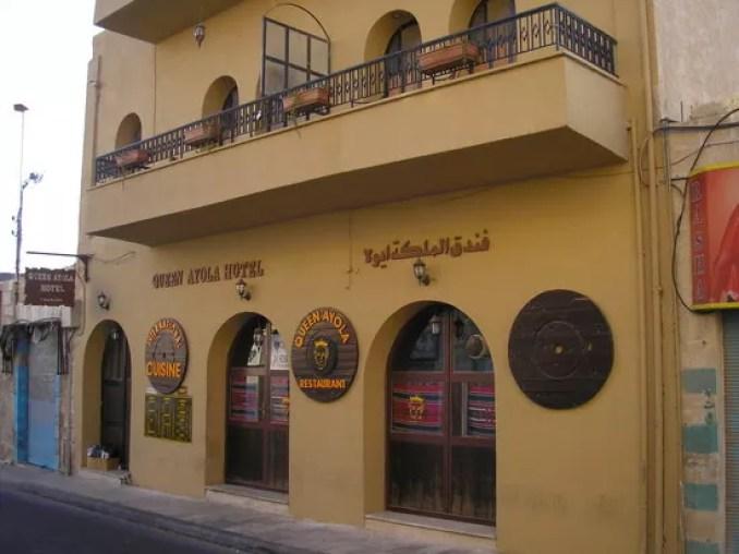 Queen Ayola Hotel.
