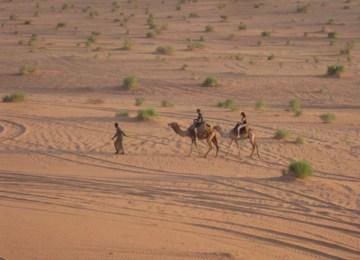 wadi rum Camel ride (2)