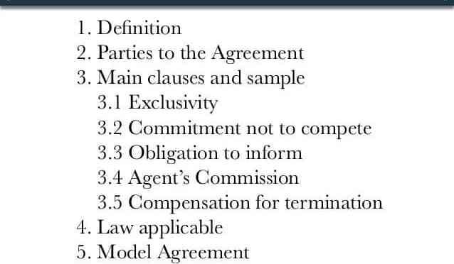 نموذج رد قانوني حول فسخ عقد وكالة تجارية حصرية