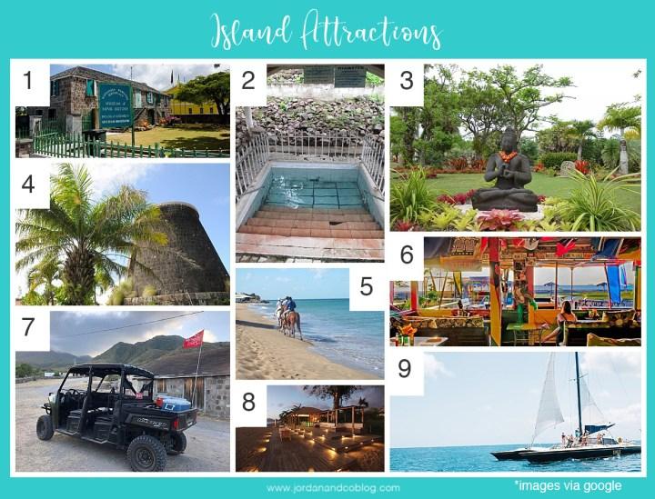 nevis attractions