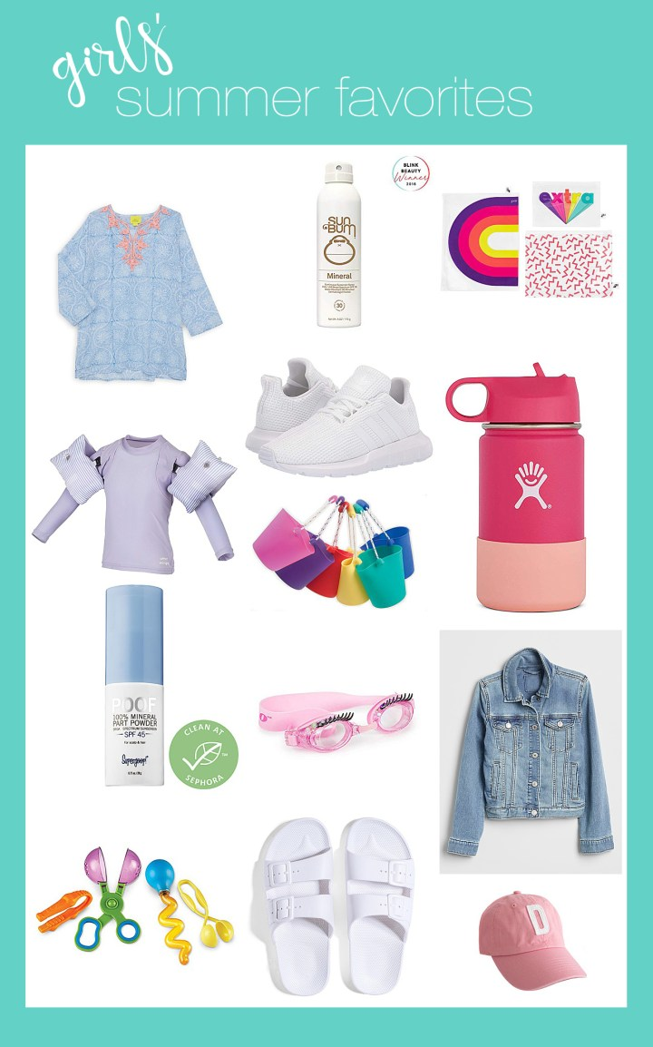Girls' Summer Favorites