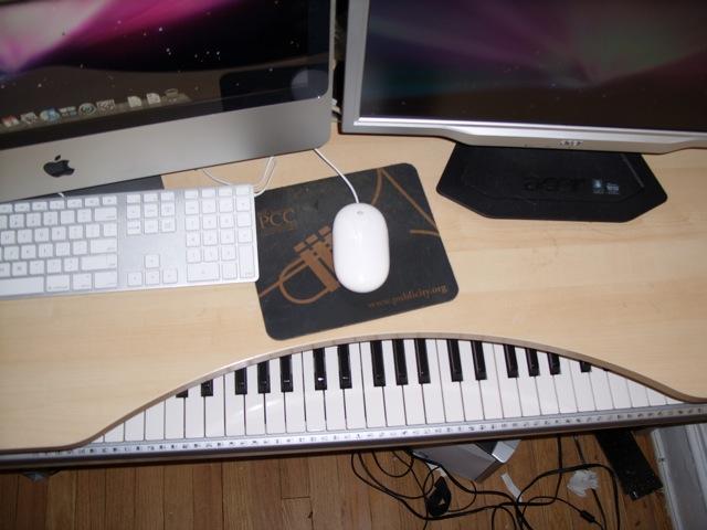 my diy keyboard drawer
