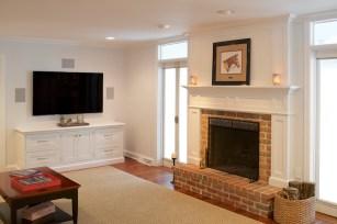 Commercial Interior Kitchen Living Room Photographer Jordan Bush Photography_Gingrich8