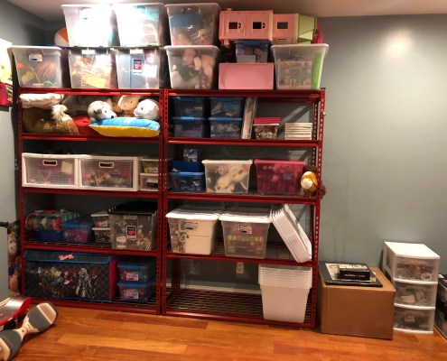 Organized Childs Playroom, playroom, toys, organize