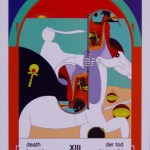 Mystereum Tarot Imagin-Action Death~Emperor Scheduling