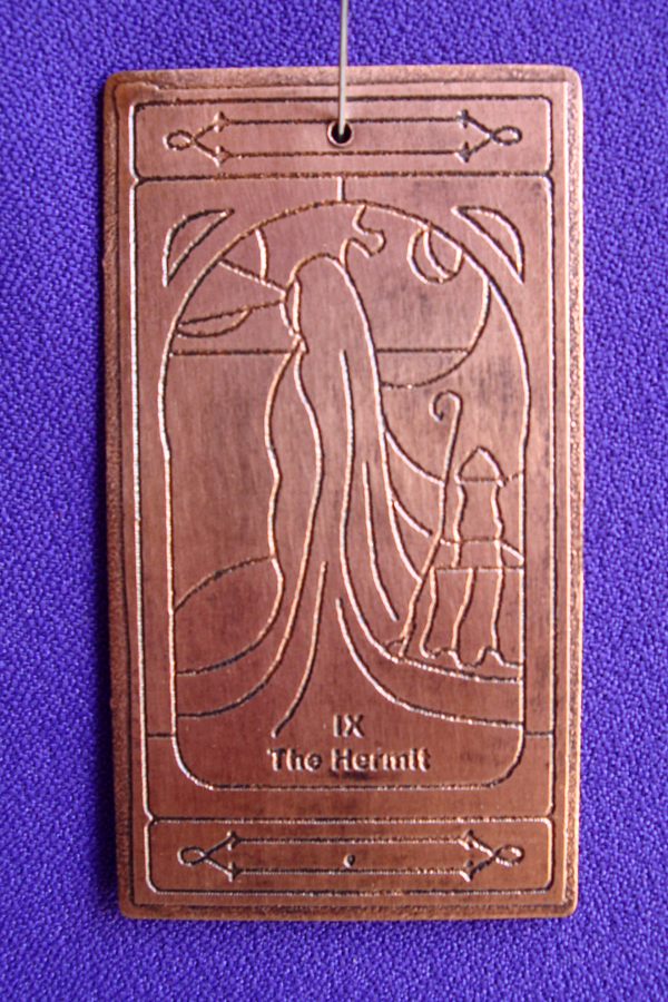 Hermit copper talisman