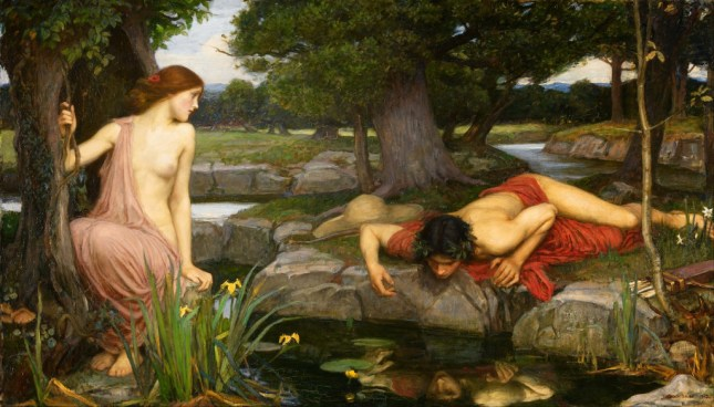"""Echo and Narcissus"" by John William Waterhouse"