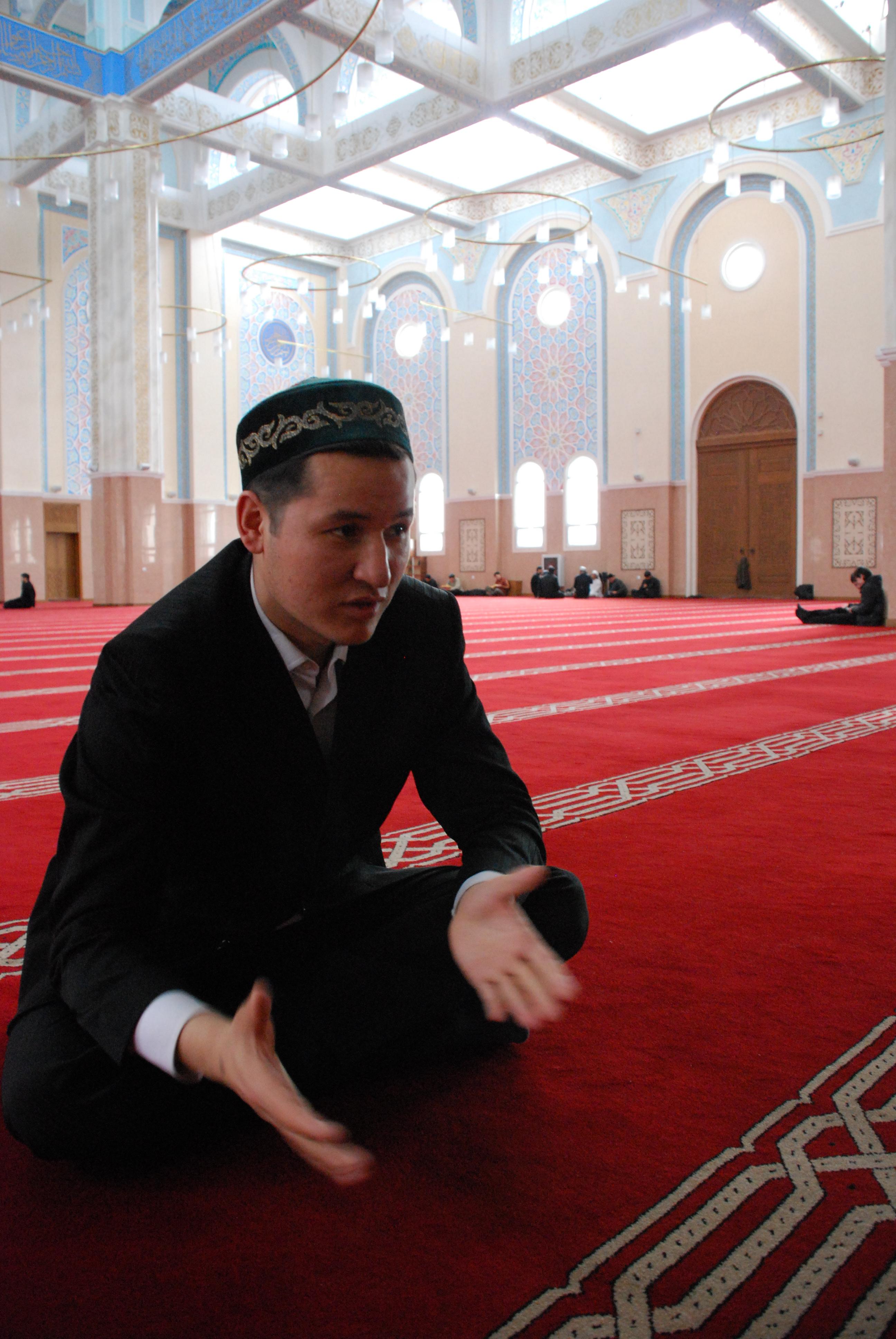 Koran teacher Adilkhan Serikbay says Kazakhs want no trouble with Jews or any other of Kazakhstan's many ethnic and religious groups. (Photo: mjj)