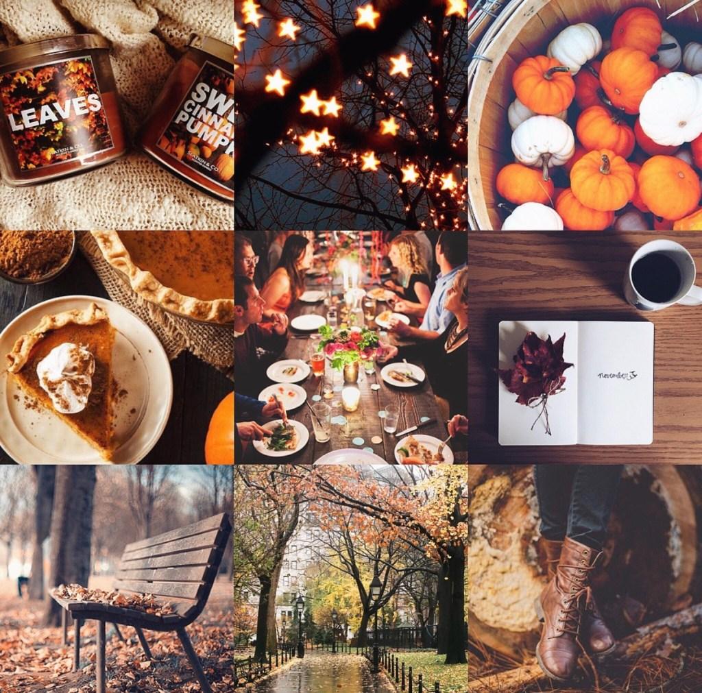 November Mood Board