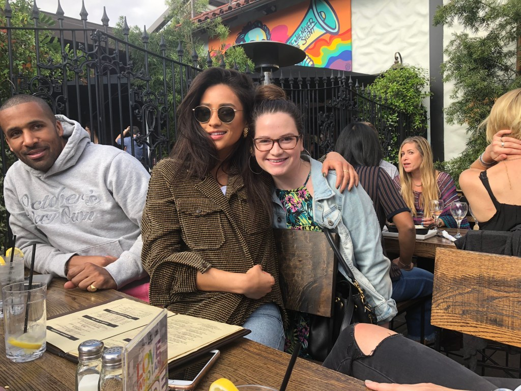 i met shay mitchell during my first weekend in LA