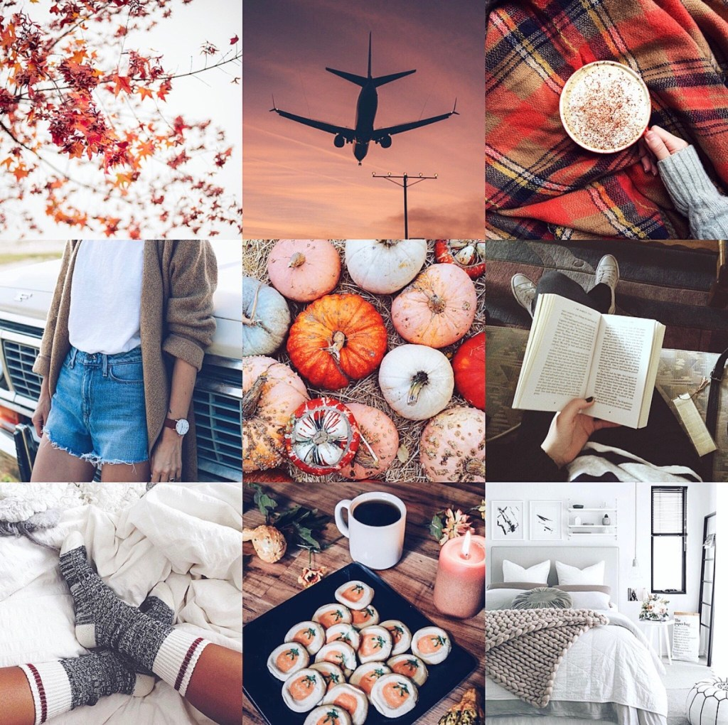 October Mood Board