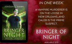 Reminder: Bringer of Night is out NEXT FRIDAY!