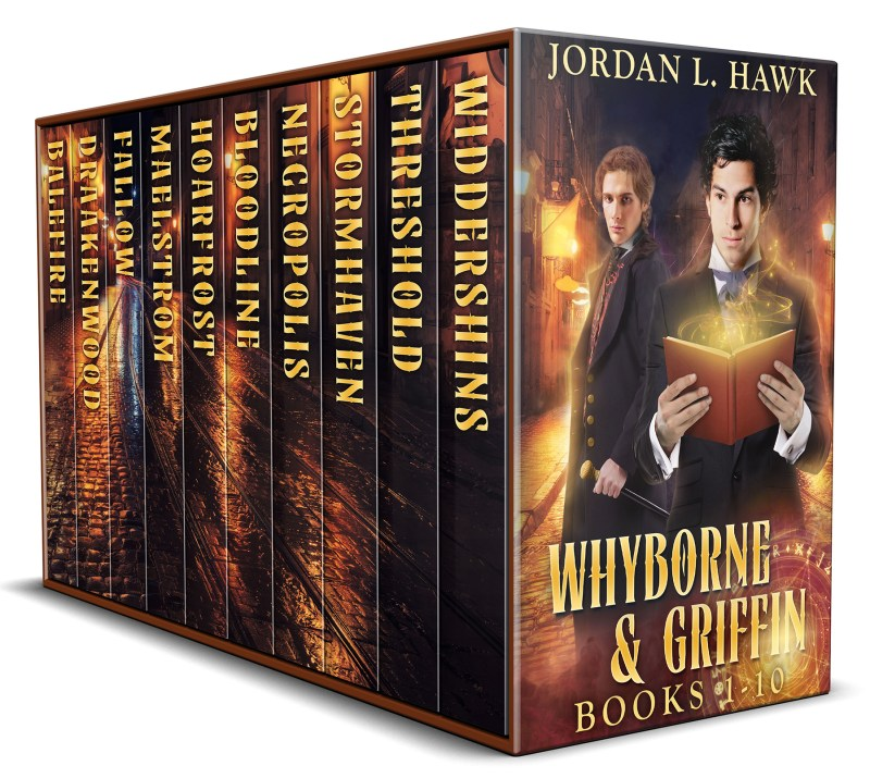 Whyborne & Griffin, Books 1-10