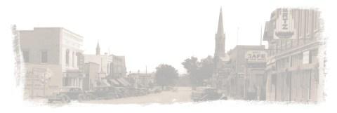 Town of Jordan in 1930's