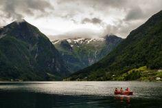 Balestrand Fjord Rowing