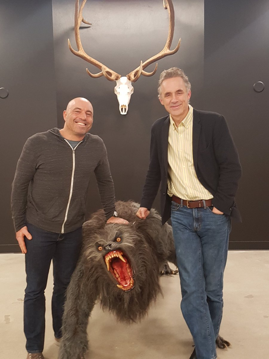 Joe Rogan and Jordan Peterson
